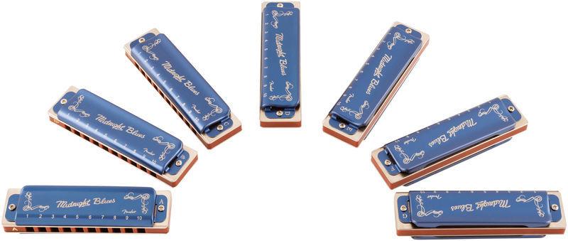 Fender Midnight Blues 7 Pack