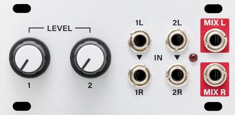 Stereo Mixer 1U Intellijel Designs