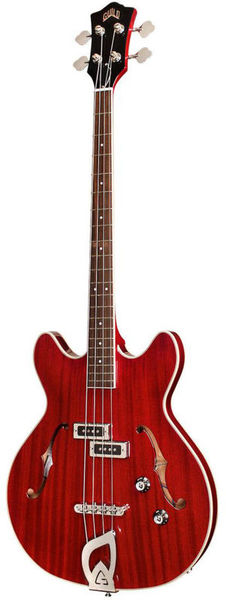 Guild Starfire I Bass Cherry Red