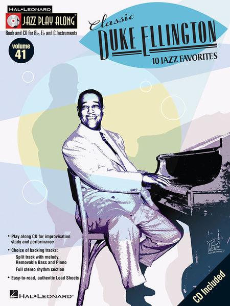 Hal Leonard Jazz Play-Along Duke Ellington