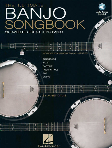 Hal Leonard Ultimate Banjo Songbook