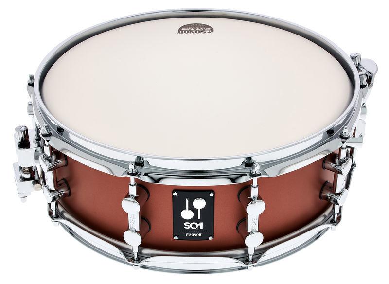 """Sonor SQ1 14""""x5"""" Snare Satin Copper"""