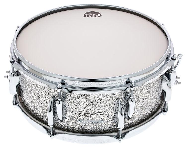 """Sonor 14""""x5,75"""" Vintage Snare Silver"""