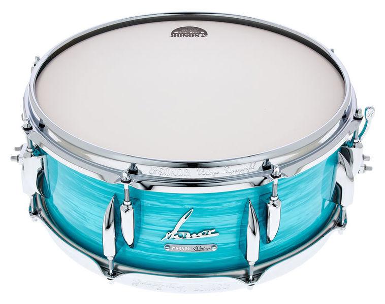 """Sonor 14""""x5,75"""" Vintage Snare Blue"""
