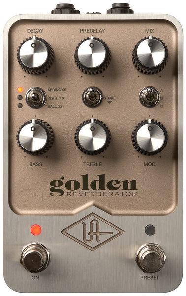 UAFX Golden Reverberator Universal Audio