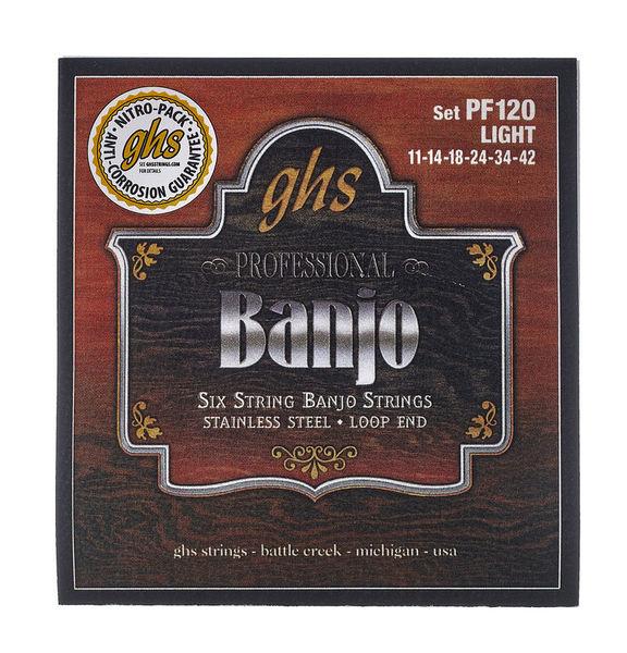 GHS Professional PF120 Banjo Set