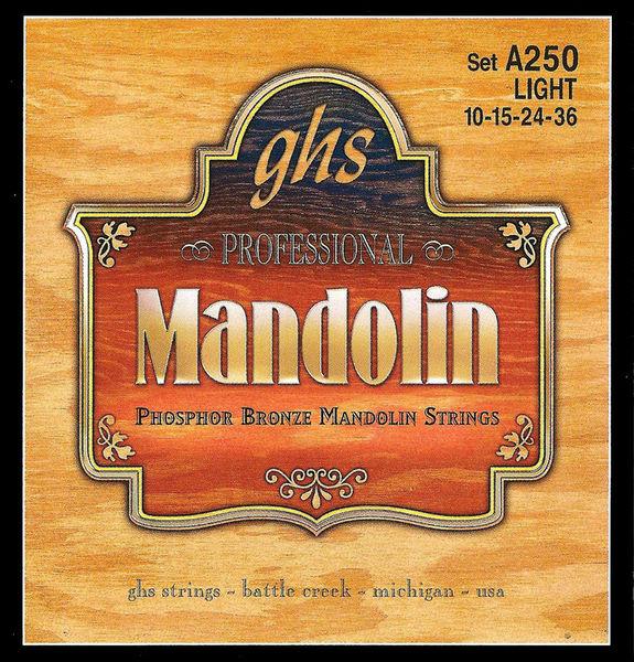 GHS A250 Mandolin String Set Light