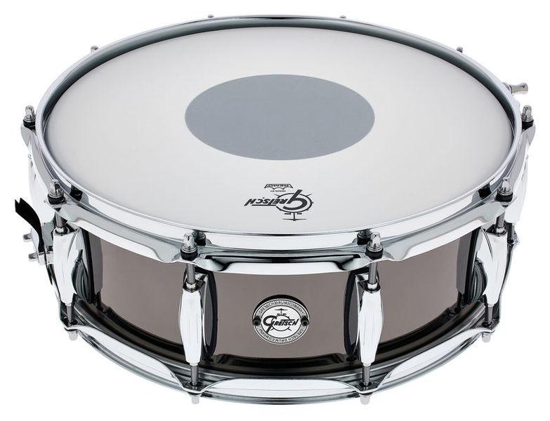 "Gretsch Drums 14""x5"" Black Nickel over Steel"
