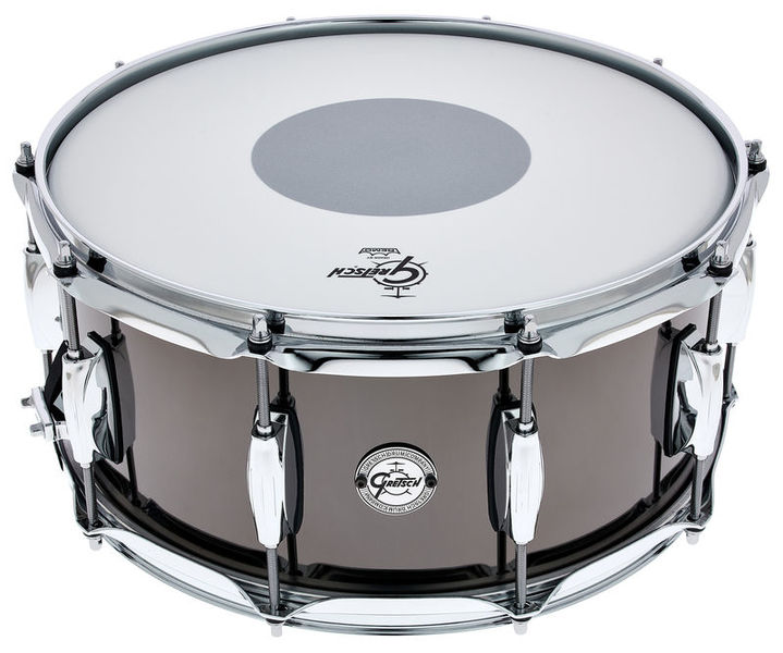 """Gretsch Drums 14""""x6,5"""" Black Nickel over St."""