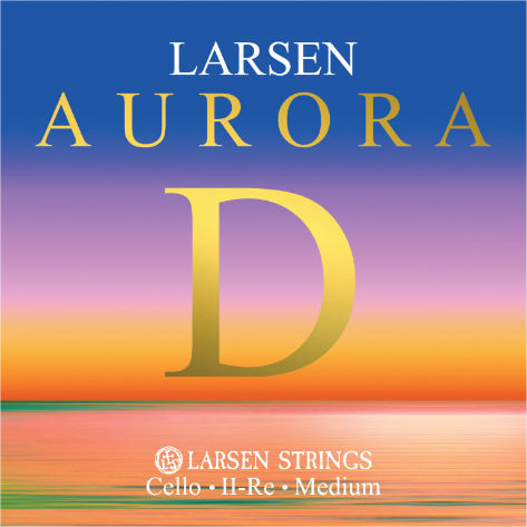 Aurora Cello D String 1/8 Med. Larsen