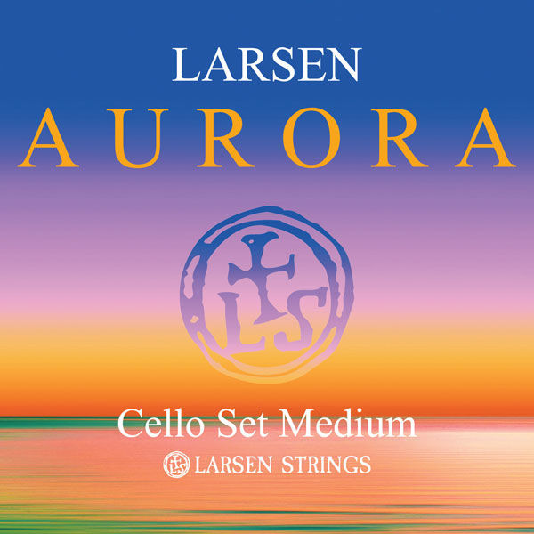 Larsen Aurora Cello Strings Set 1/8 M