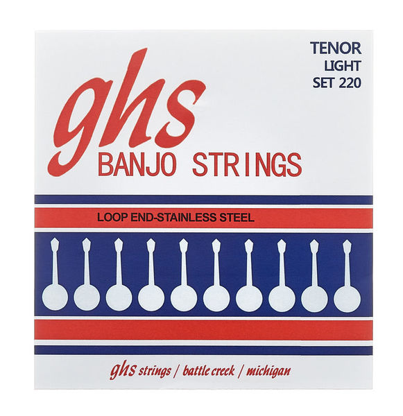 GHS 220 Banjo String Set Light