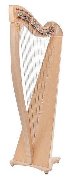 Lyon & Healy Drake LT Lever Harp Natural