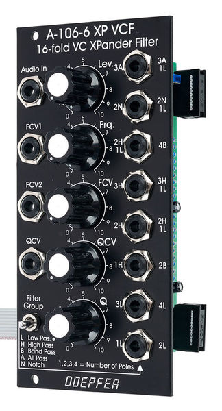 Doepfer A-106-6 VE XP Filter