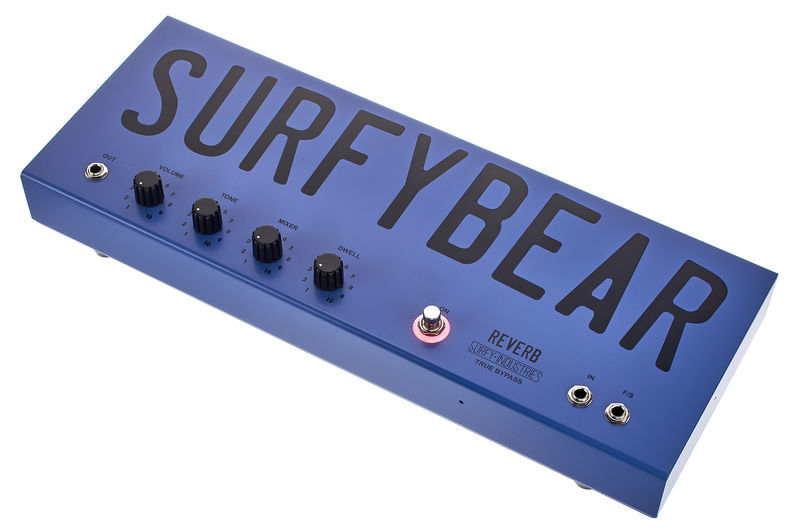 Surfy Industries Surfybear Metal Reverb DBL