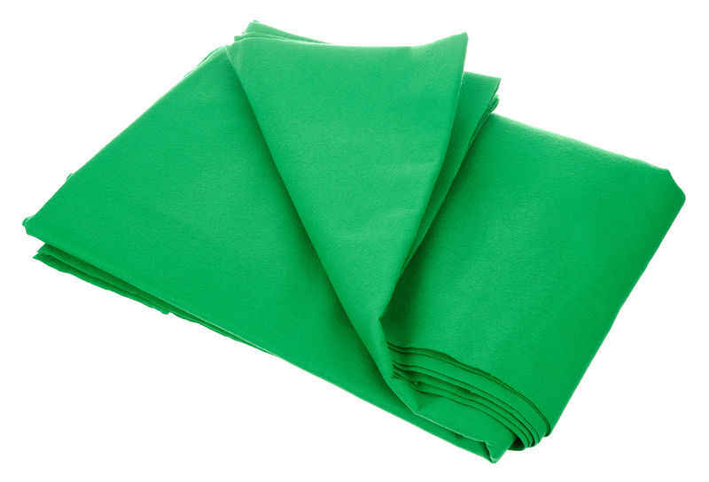 Stairville Curtain 160g/m² Greenbox