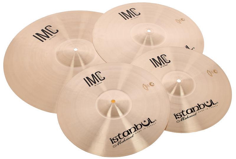 Istanbul Mehmet IMC 3pcs Cymbal Set Natural