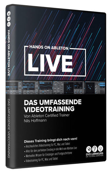 DVD Lernkurs Ableton Live 11 Videotraining