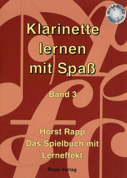 Horst Rapp Verlag Klarinette lernen mit Spaß 3