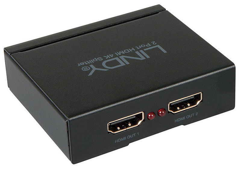 Lindy 2 Port HDMI 10.2G Splitter
