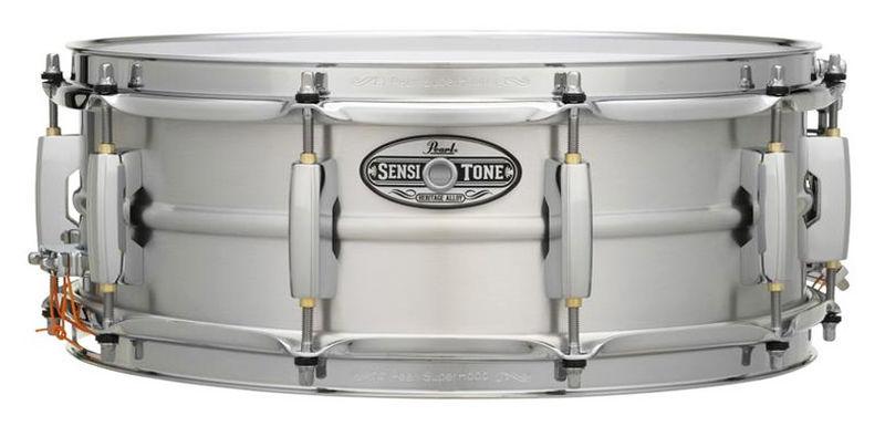 """Pearl 14""""x05"""" Sensitone Aluminium"""