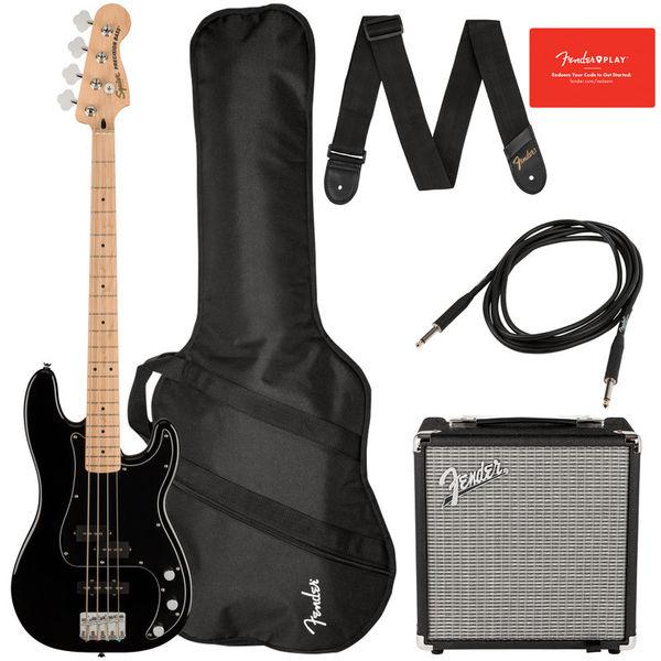 Fender SQ Aff. P Bass MN PJ PACK BK