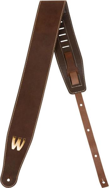 Warwick Teambuilt Leather Strap BR BG