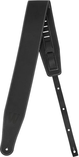 Warwick Teambuilt Leather Strap BK BB