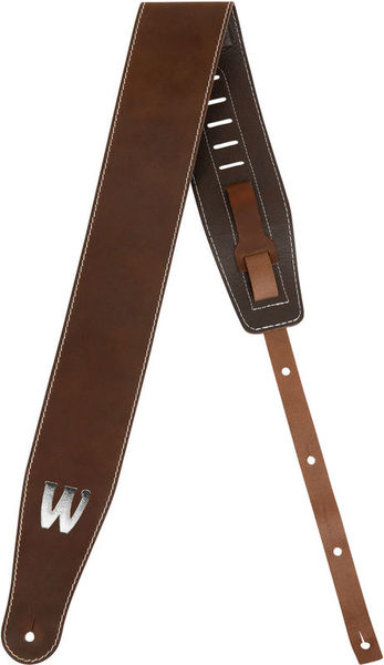 Warwick Teambuilt Leather Strap BR BS