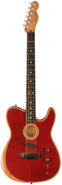 Fender AM Acoustasonic Tele CRD