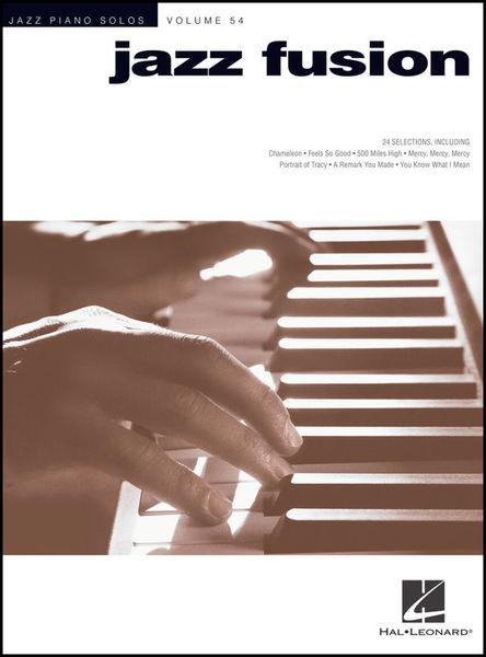Hal Leonard Jazz Piano Solos Fusion Jazz