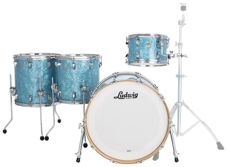 Ludwig Classic Maple 4pcs G. Blue
