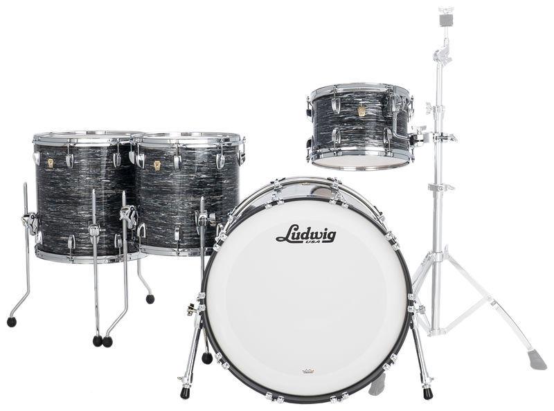 Ludwig Classic Maple 4pcs V. Black Oy