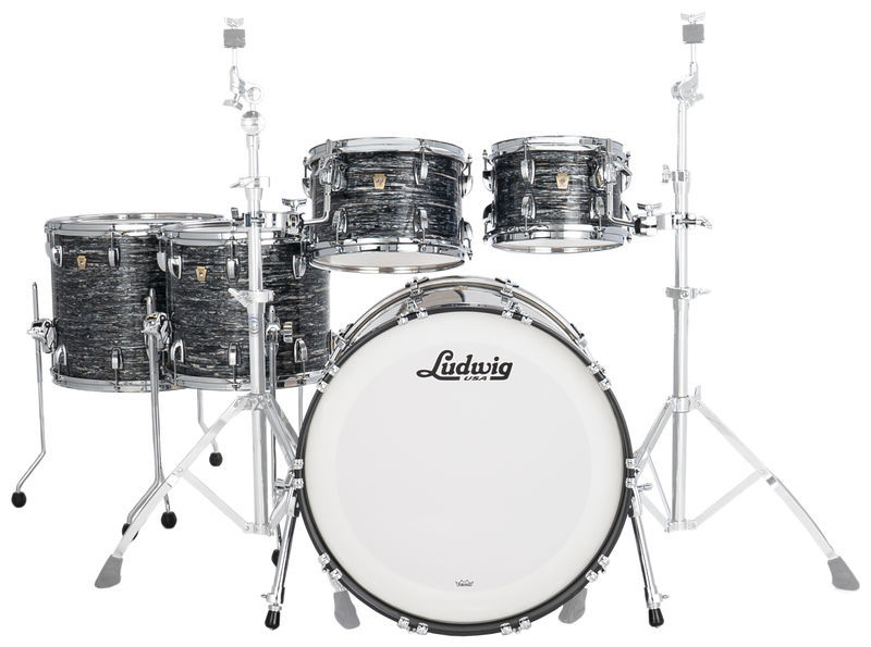 Ludwig Classic Maple 5pcs V. Black Oy