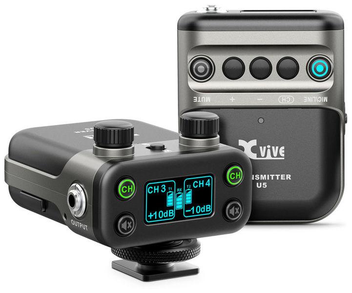 XVive U5 Wireless Audio System + Lav