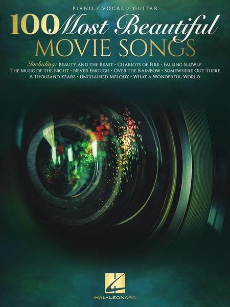 Hal Leonard 100 Most Beautiful Movie Songs