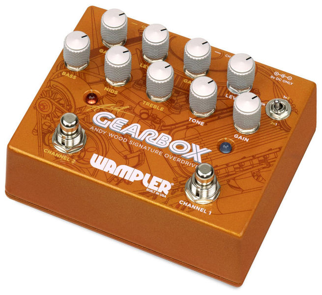 Gearbox Dual Overdrive Wampler