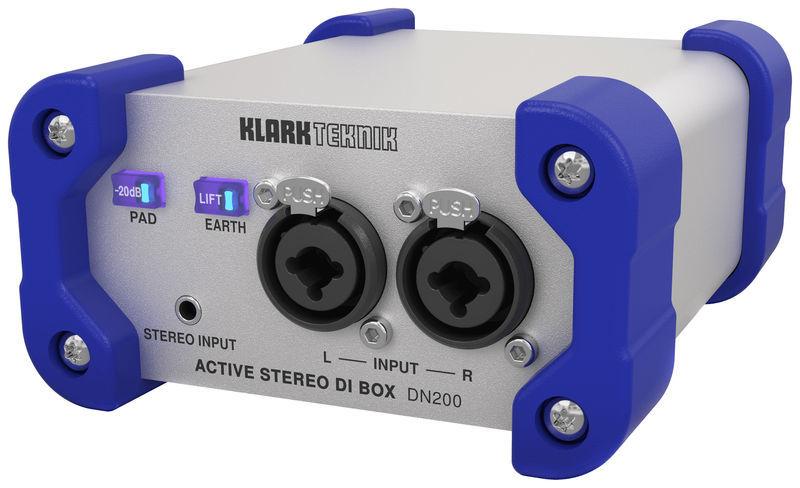 Klark Teknik DN200 V2 Active DI