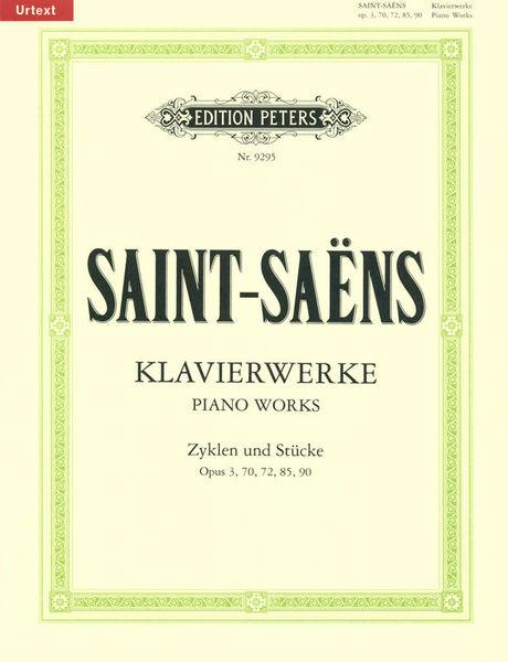 Edition Peters Saint-Saens Klavierwerke