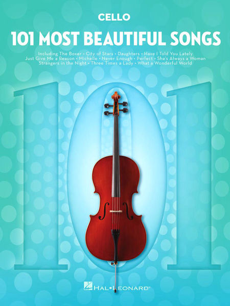 101 Beautiful Songs Cello Hal Leonard
