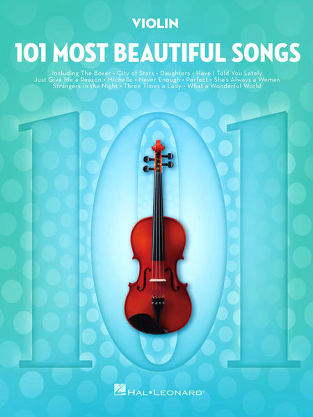 101 Beautiful Songs Violin Hal Leonard