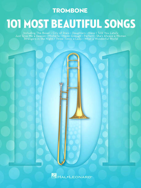 101 Beautiful Songs Trombone Hal Leonard