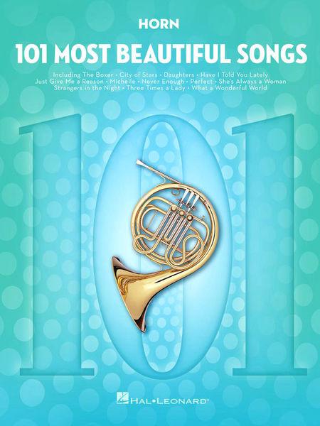 101 Beautiful Songs Horn Hal Leonard