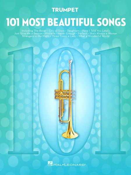 101 Beautiful Songs Trumpet Hal Leonard