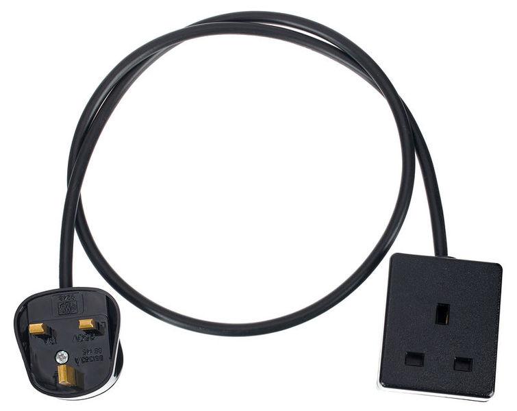 Stairville UK Power Cord 1m 1,5 mm² BK