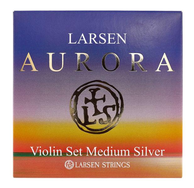 Larsen Aurora Violin Set D Silver Med