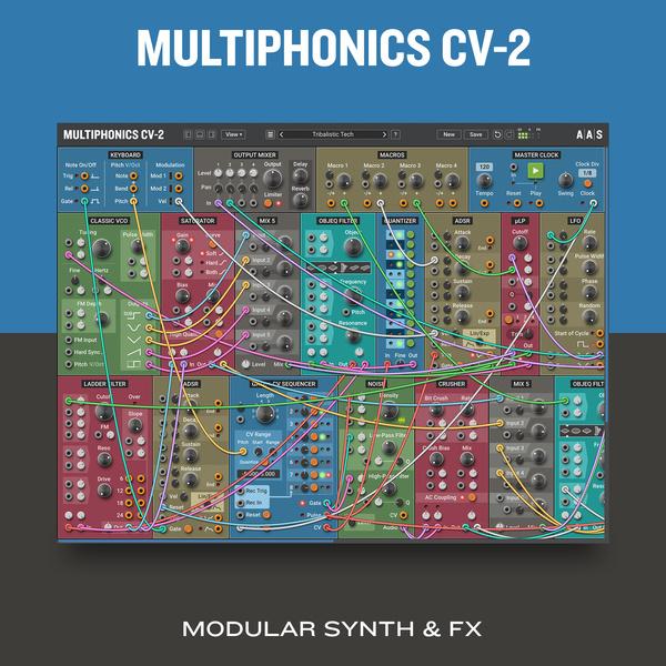Applied Acoustics Systems Multiphonics CV-1