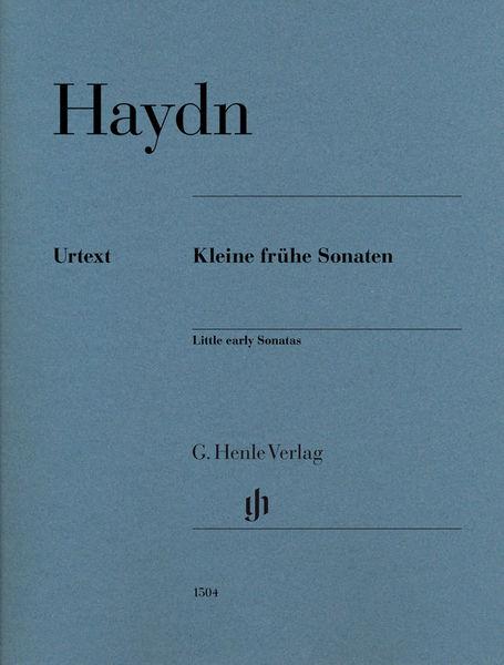 Henle Verlag Haydn Kleine frühe Sonaten