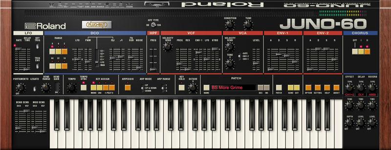 Roland Cloud JUNO-60