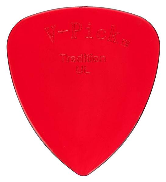 V-Picks Tradition Ultra Lite Ruby Red